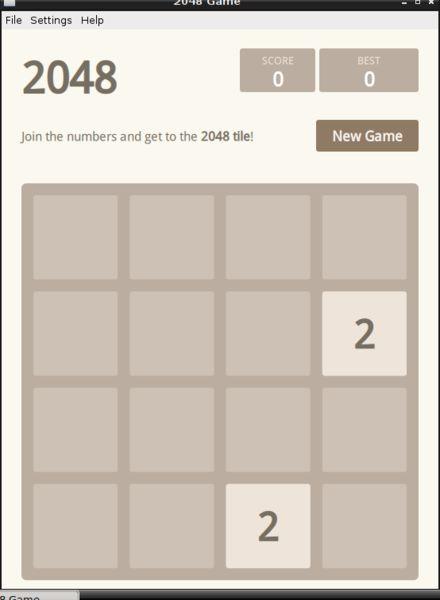 2048-qt — игра-головоломка на основе математики