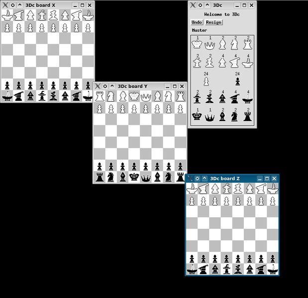 3dchess — Играйте в шахматы через 3 доски!