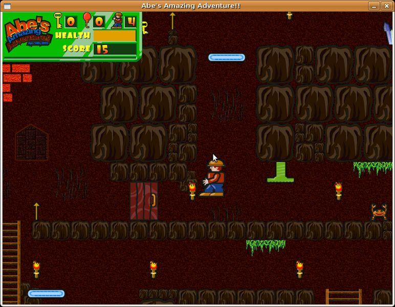 abe — боковая прокрутка игры под названием «Удивительное приключение Абэ»
