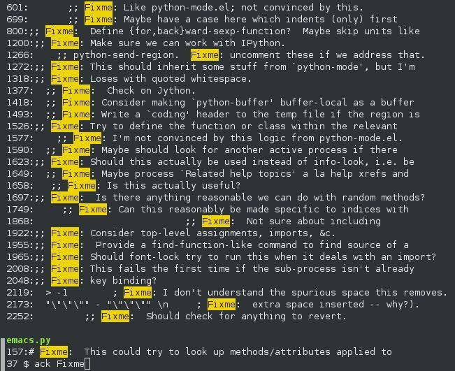 ack-grep — Пакет переходных манекенов, чтобы вытащить «ack»