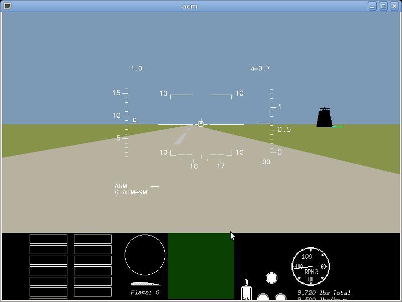acm — Многопользовательское классическое воздушное боевое моделирование