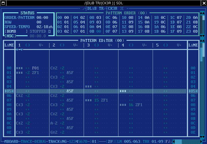 adlibtracker2 — дружественный трекер для OPL3 FM-чипа