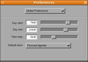 agenda.app — Менеджер календаря для GNUstep
