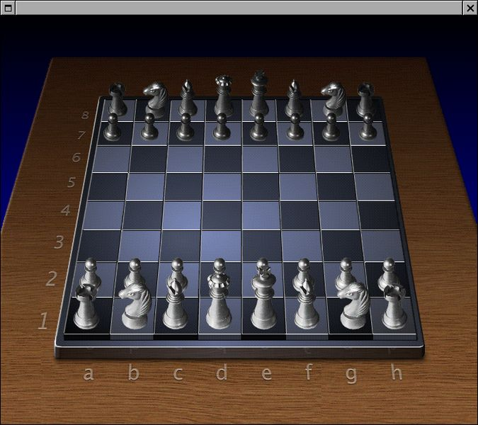 chess.app — Шахматы для GNUstep портированы с OPENSTEP