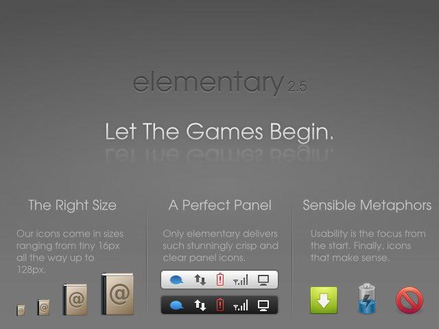elementary-icon-theme — простая и привлекательная тема в стиле танго