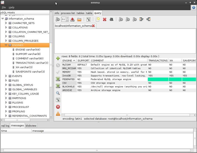 emma — расширяемый помощник по управлению MySQL