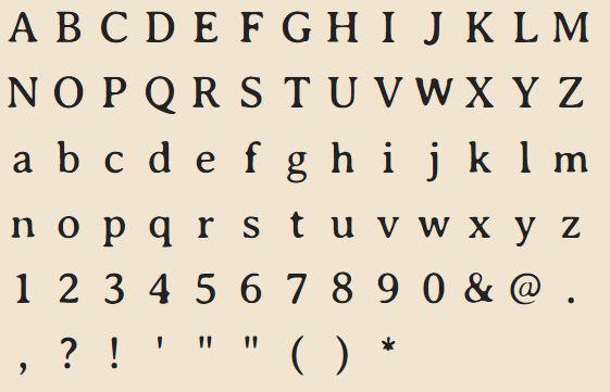 fonts-averia-serif-gwf — Семейство шрифтов Avería Serif GWF
