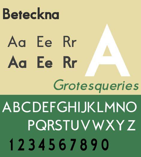 fonts-beteckna — геометрический Futura-подобный шрифт без шрифта TrueType