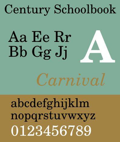 fonts-century-catalogue — возрождение шрифта в стиле столетия