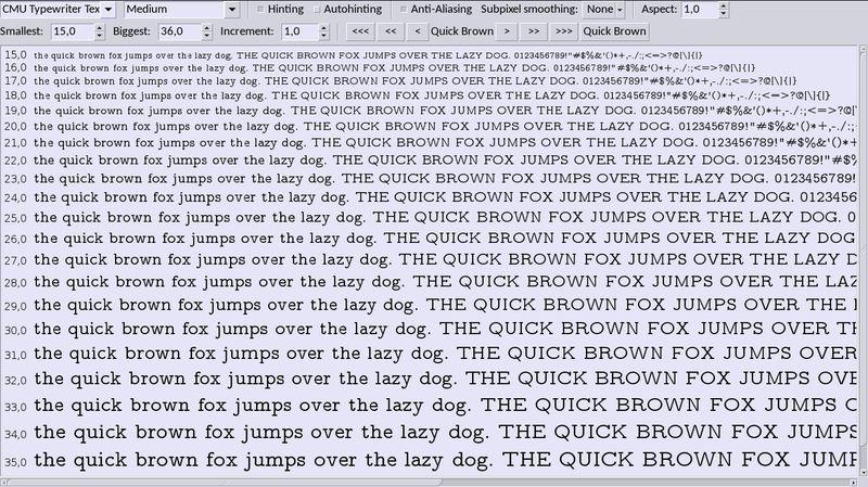 fonts-cmu — устанавливает современные современные юникодные шрифты