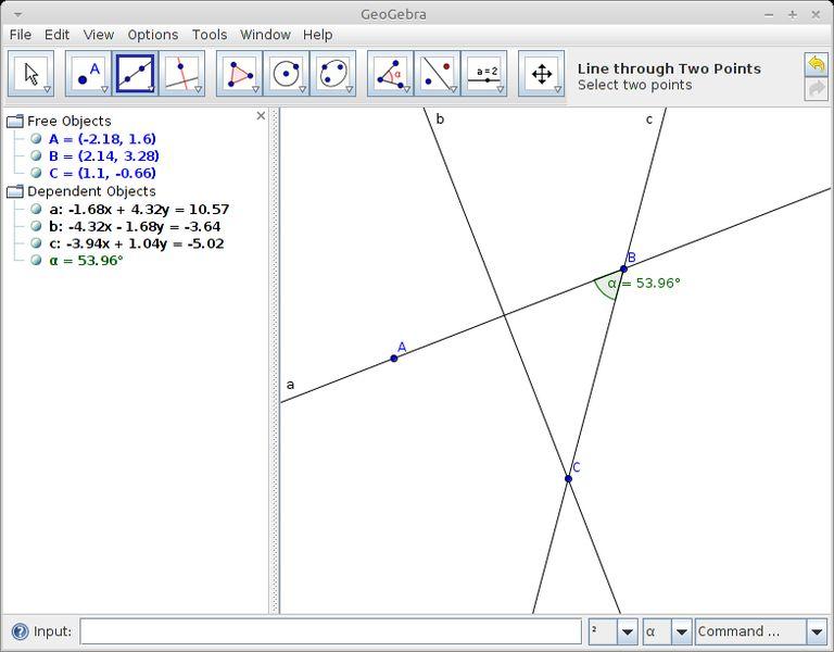 geogebra — Программное обеспечение динамической математики для образования