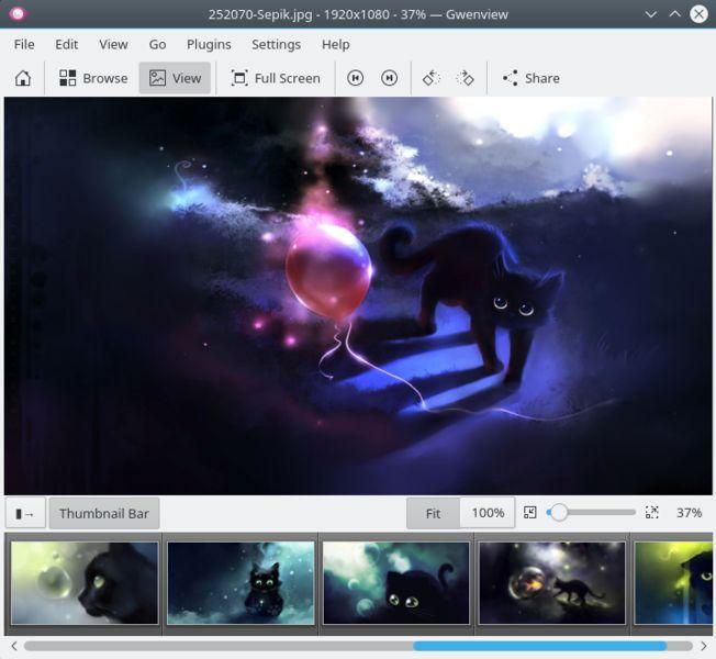 Установка gwenview в Ubuntu / Linux Mint / Debian
