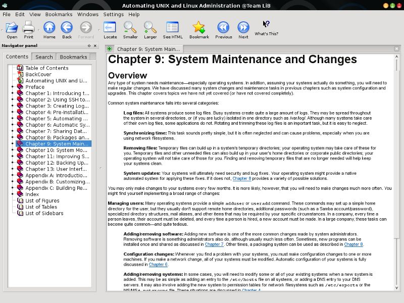 kchmviewer — Просмотр CHM для KDE