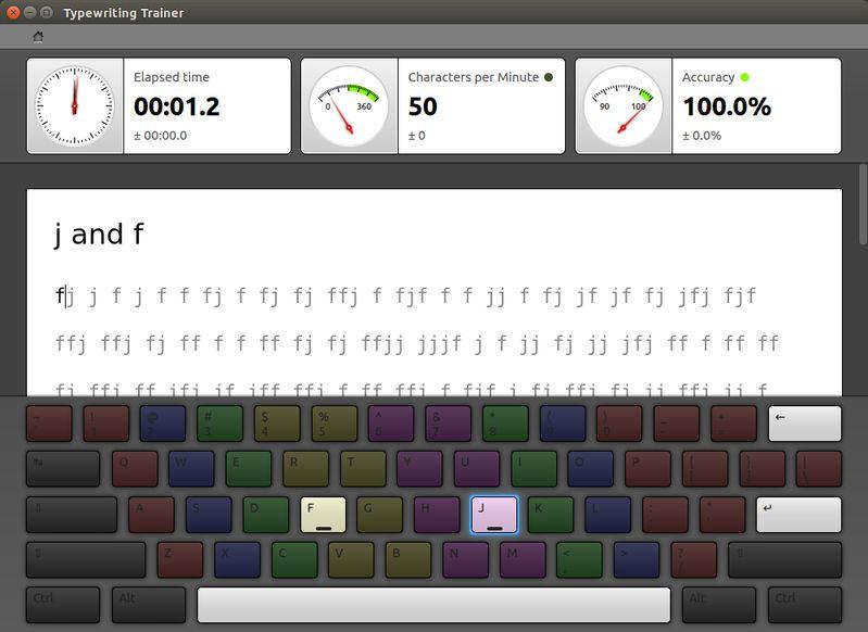 ktouch — Touch Typing Tutor для KDE