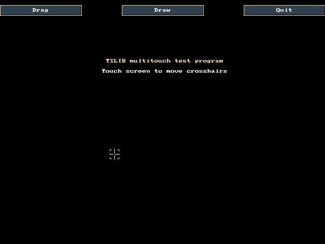 libts-bin — утилиты для работы с сенсорным экраном