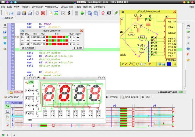 mcu8051ide — Графическая интегрированная среда разработки для 8051