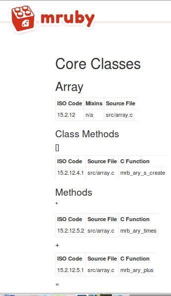 mruby — легкая реализация языка Ruby