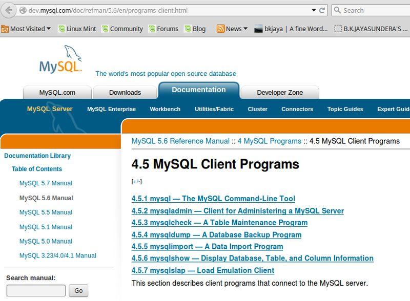 mysql-client — Бинарные файлы клиента базы данных MySQL [переходный]