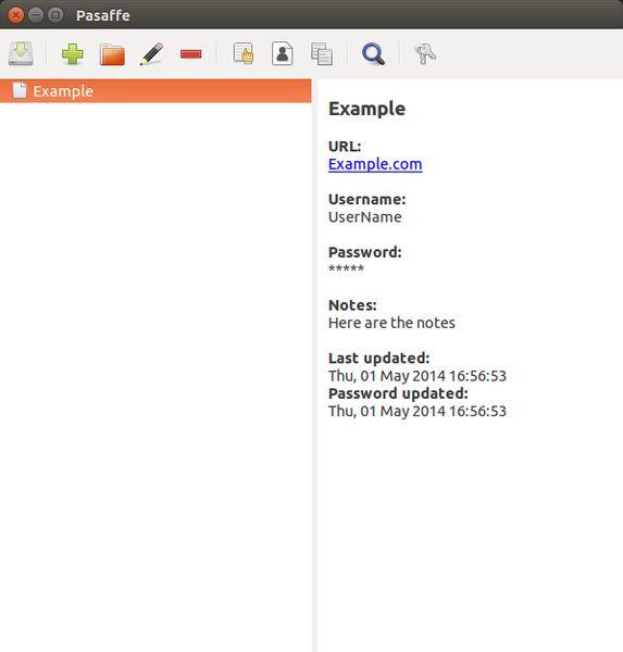pasaffe — Менеджер паролей для GNOME