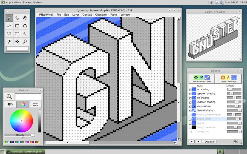 pikopixel.app — Редактор Pixel-art