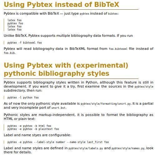 pybtex — Библиографический процессор, совместимый с BibTeX