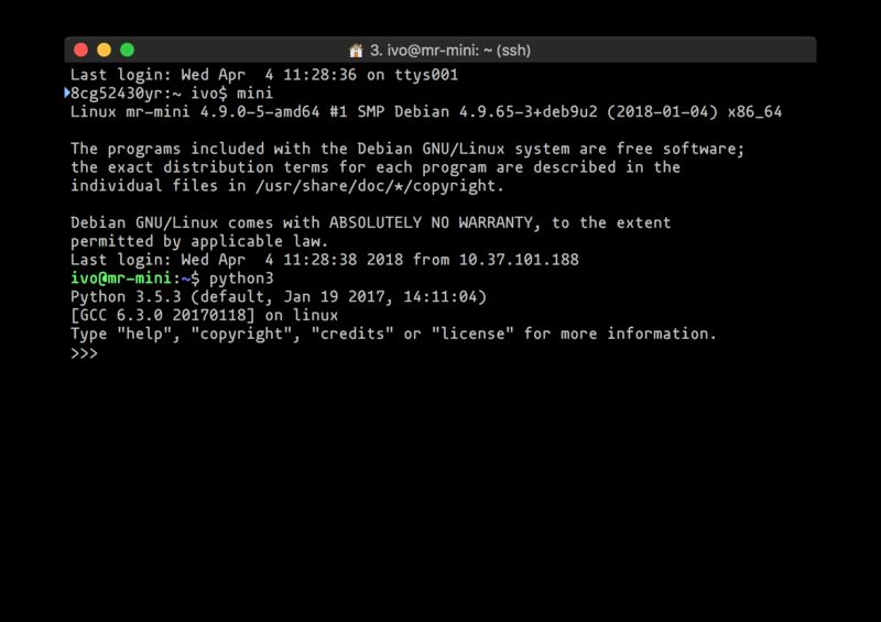 python3 — интерактивный высокоуровневый объектно-ориентированный язык (версия python3 по умолчанию)