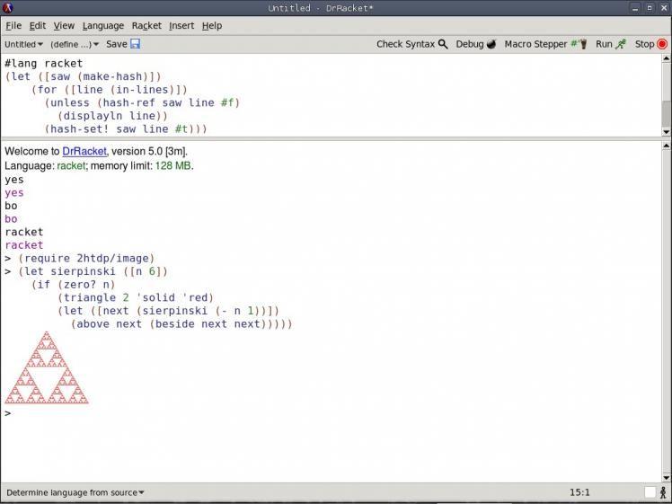 racket — расширяемый язык программирования в семействе Scheme
