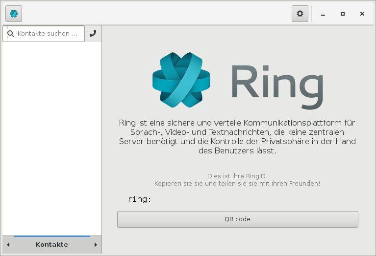 ring — Безопасная и распределенная платформа голосовой связи, видео и чата - настольный клиент