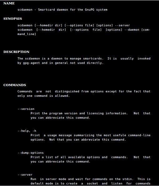 Установка scdaemon в Ubuntu / Linux Mint / Debian