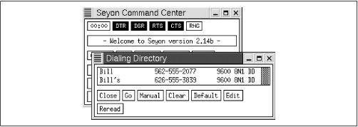 seyon — Полнофункциональная коммуникационная программа X11