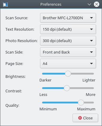Установка simple-scan в Ubuntu / Linux Mint / Debian