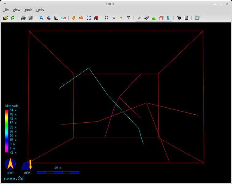 therion-viewer — Пещерная съемка - 3D-просмотрщик для моделей