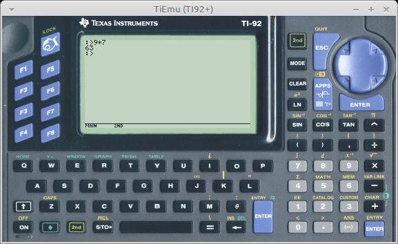 tiemu — Эмулятор калькуляторов Texas Instruments (без GDB)