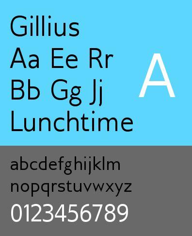 ttf-adf-gillius — Шрифт Gillius для цифровой литейной системы Arkandis