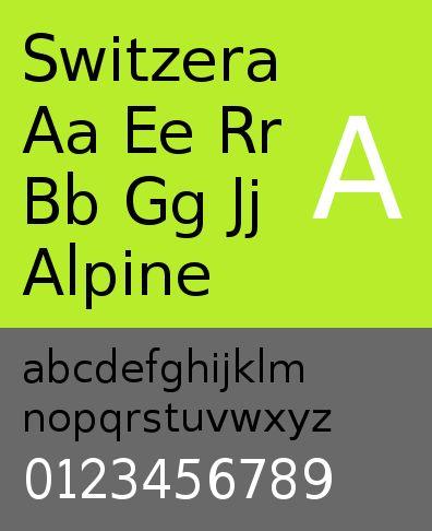 ttf-adf-switzera — Шрифт Switzera цифрового литья Arkandis