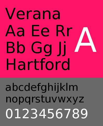 ttf-adf-verana — Шрифт Verana для цифрового литья Arkandis