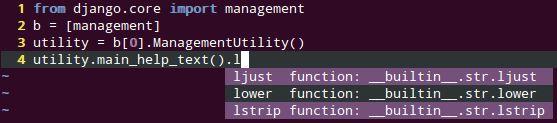 vim-python-jedi — инструмент автозаполнения для файлов дополнений Python - VIM