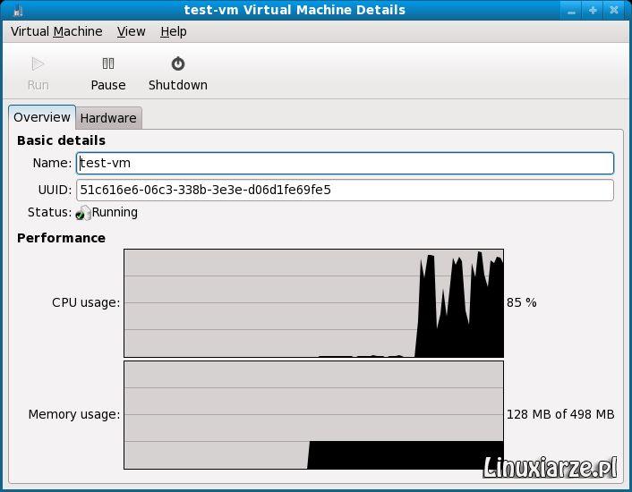 virt-manager — настольное приложение для управления виртуальными машинами