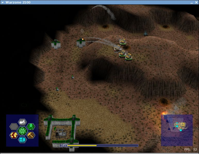 warzone2100 — Стратегия 3D в реальном времени
