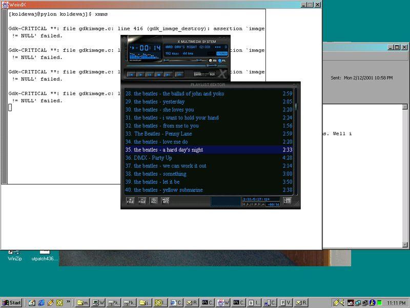 weirdx — X-сервер в Java