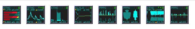 wmnd — Сетевые интерфейсы мониторинга Dockapp