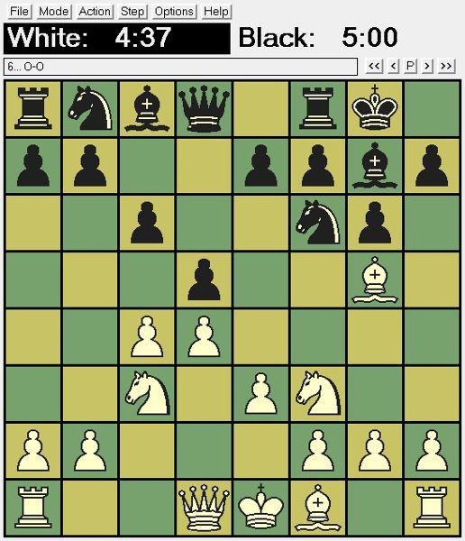 xboard — X Window System Chess Board