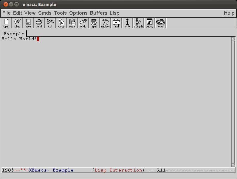 xemacs21 — настраиваемый текстовый редактор