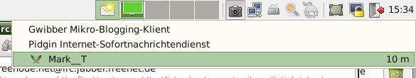 xfce4-indicator-plugin — плагин для отображения информации из приложений на панели Xfce4