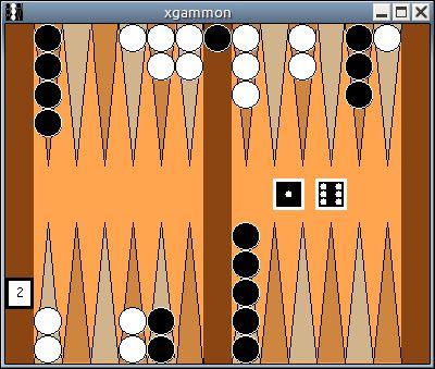 xgammon — Реализация нарды под X