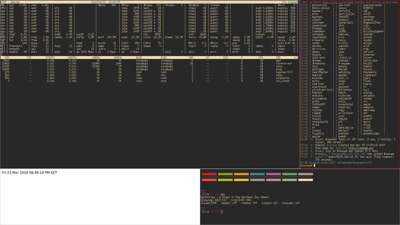 xmonad — Легкий X11 оконный менеджер, написанный в Haskell