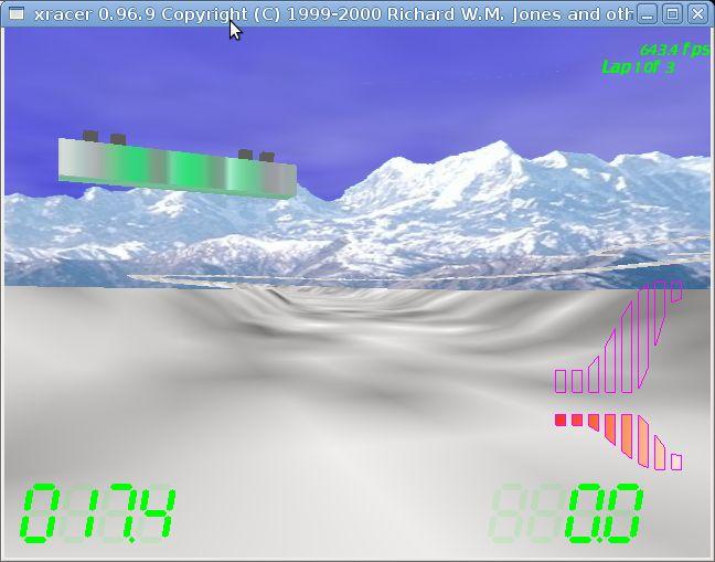 xracer — Футуристическая гоночная игра