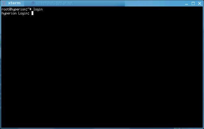 xterm — X терминальный эмулятор