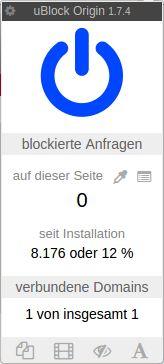 xul-ext-ublock-origin — универсальные легкие объявления, вредоносное ПО, блокировщик трекеров