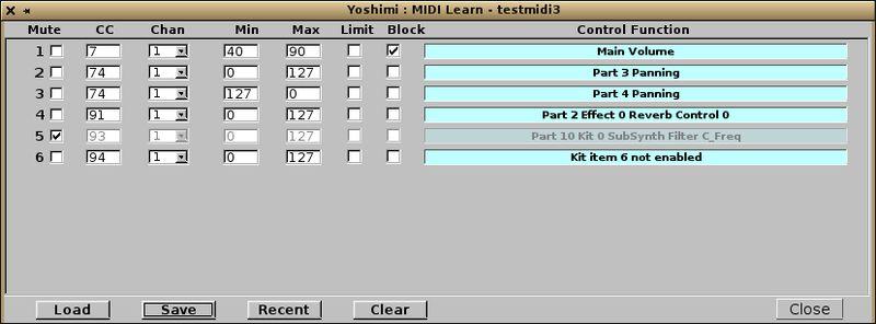yoshimi — программный синтезатор, основанный на ZynAddSubFX2